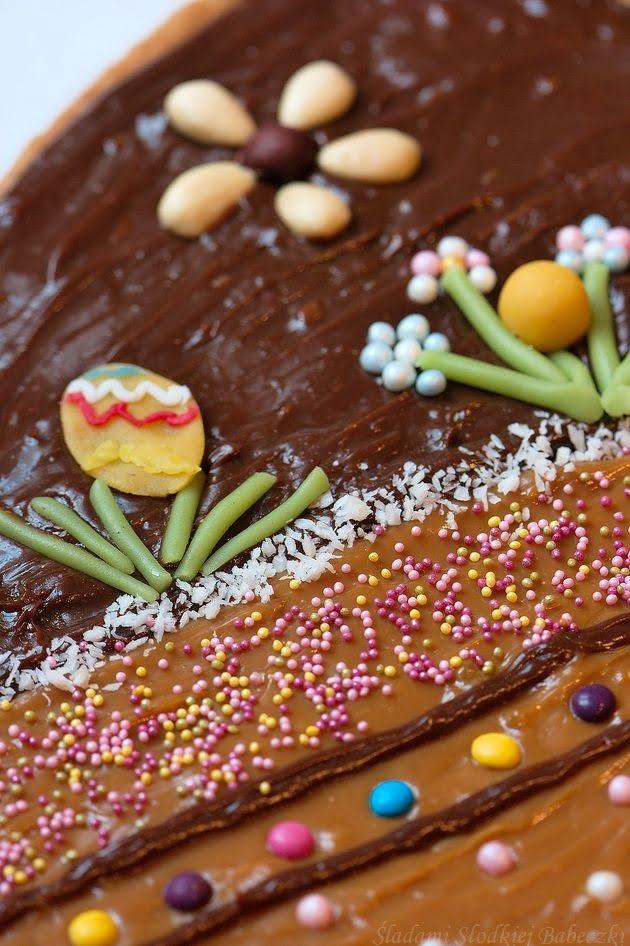 Mazurek kajmakowo – czekoladowy (2w1)