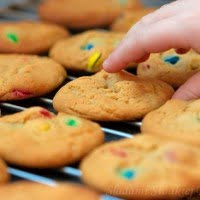 Ciasteczka ze smaries (lub m&m