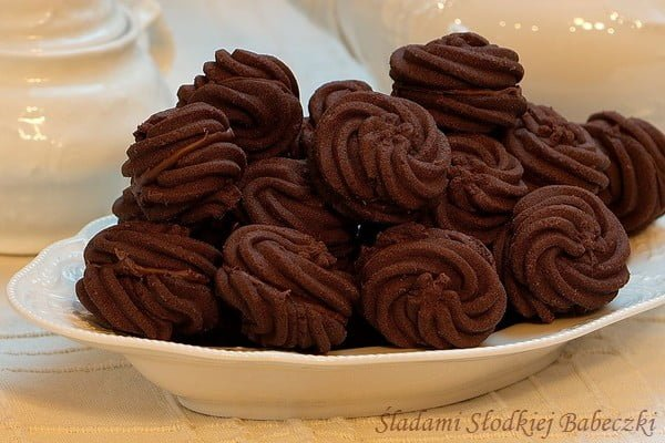 Chocolate melting moments