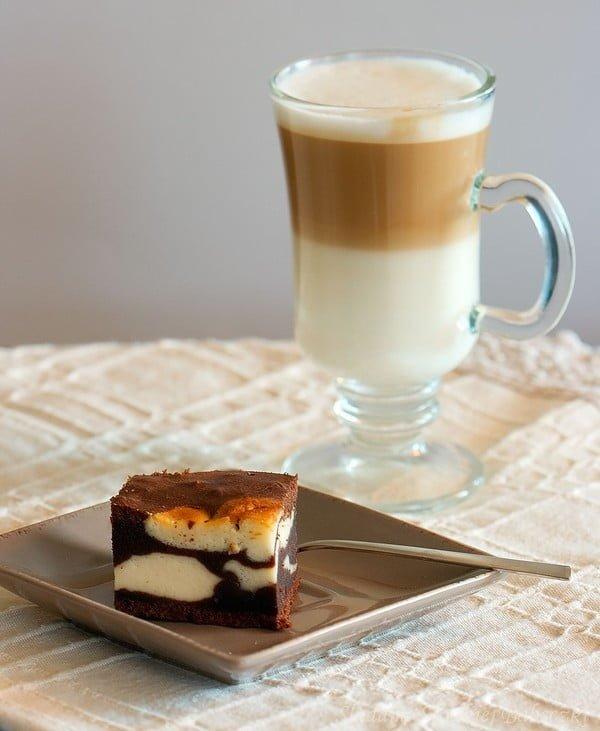 Sernik w czekoladzie