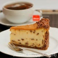 Cheese cake with Daim batonikami