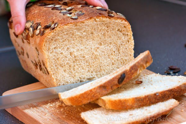 Chleb francuski (na zakwasie)