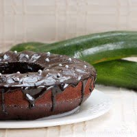 Chocolate cake with zucchini