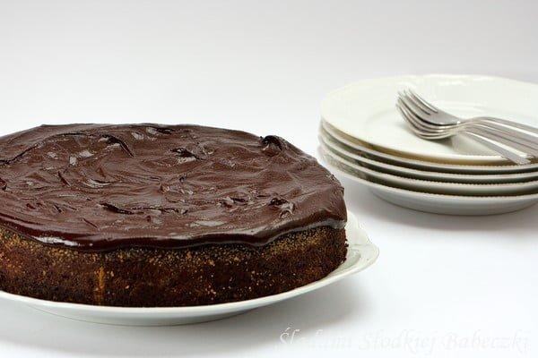 Ciasto Czekoladowo Orzechowe z