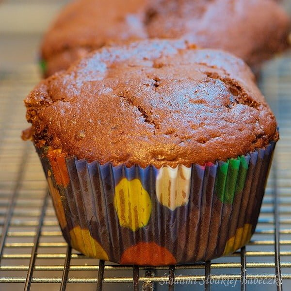 Muffiny potrojnie czekoladowe