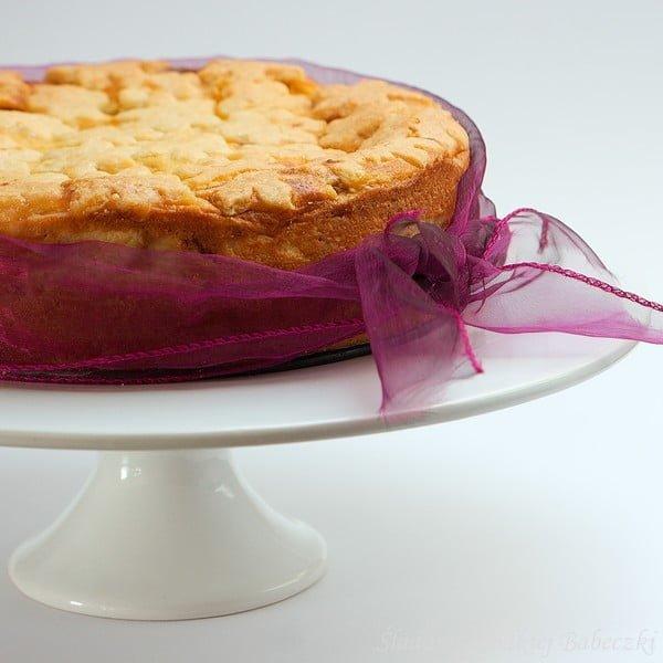 Ciasto brzoskwiniowe z kaszą manną