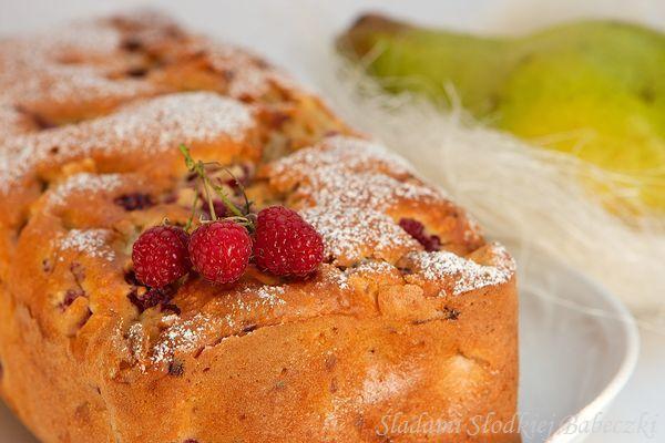 Chlebek gruszkowo malinowy