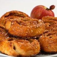 Duńskie drożdżówki z jabłkami
