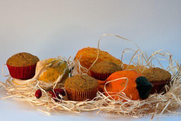 Muffiny z dynią