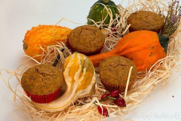 Muffiny dyniowo-orzechowe