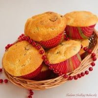 Muffins with cranberries