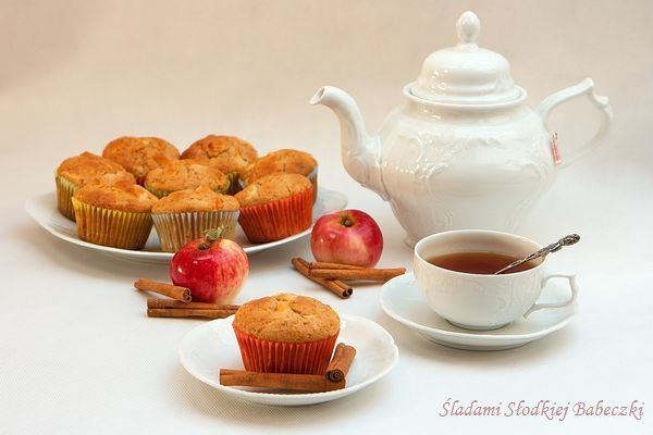 Muffinki - mini szarlotki