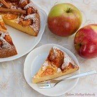 Serowiec z jabłkami