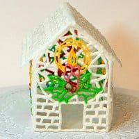 Cottage with icing