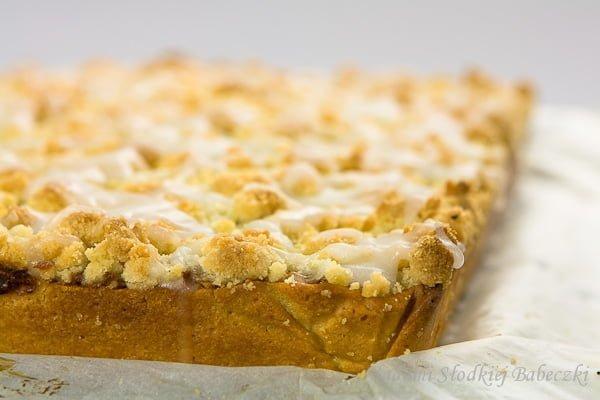 Jabłecznik z kruszonką / Apple pie with crumble