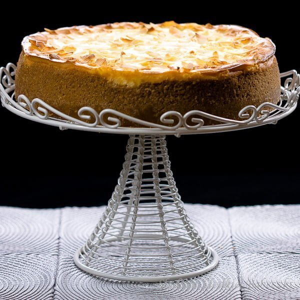 Sernik kokosowo ananasowy / Pineapple coconut cheesecake