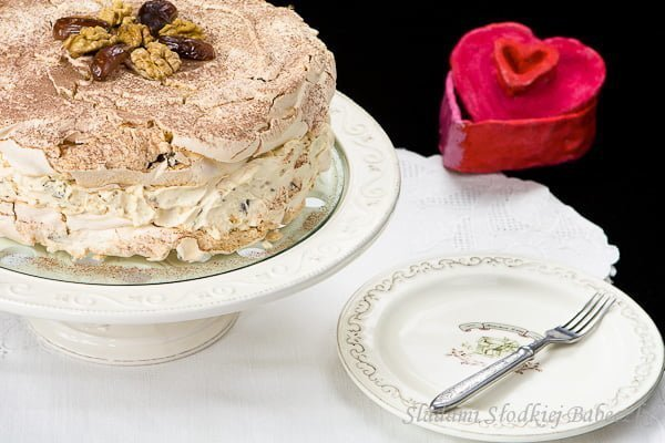 Tort bezowy / Meringue cake / Dacquoise