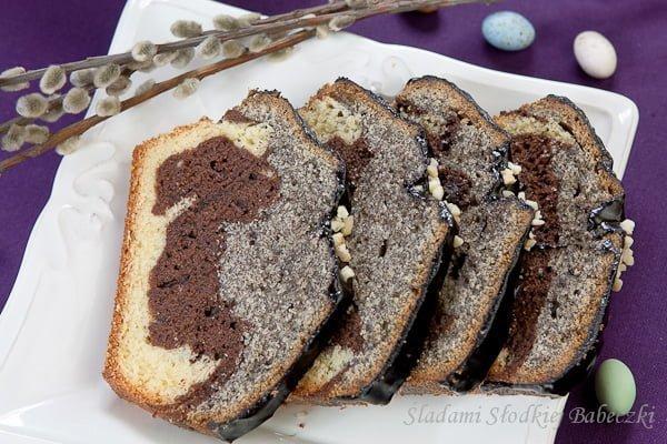 Babka trójkolorowa / Tri-colour cake