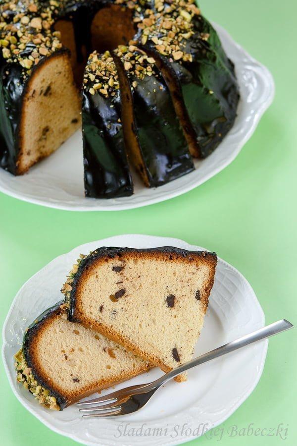Wielkanocna babka waniliowa z marcepanem / Spanish vanilla and marzipan cake