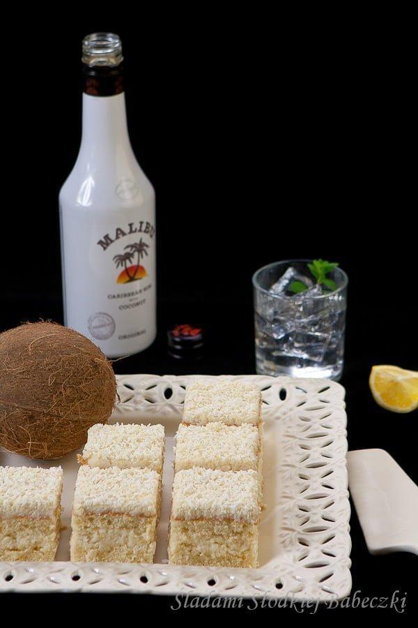 Biszkopt z kremem Malibu / Sponge cake with Malibu cream