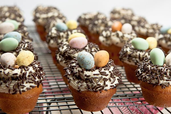 Muffinki waniliowe / Vanilla muffins
