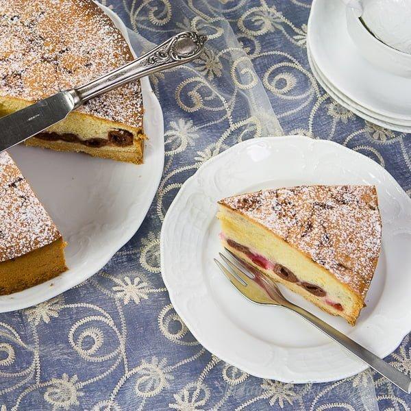 Wiedeński tort z wiśniami