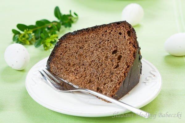 Drożdżowa babka czekoladowa na Wielkanoc / Easter chocolate cake yeast
