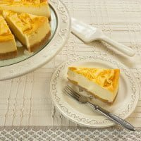 Cheese cake with peach mousse / Peach mousse cheesecake