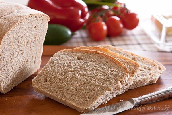 Chleb mieszany żytnio-orkiszowy / Rye and Spelt Sourdough bread