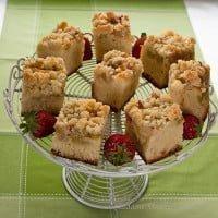 Drożdżówka z rabarbarem / Yeast cakes with rhubarb