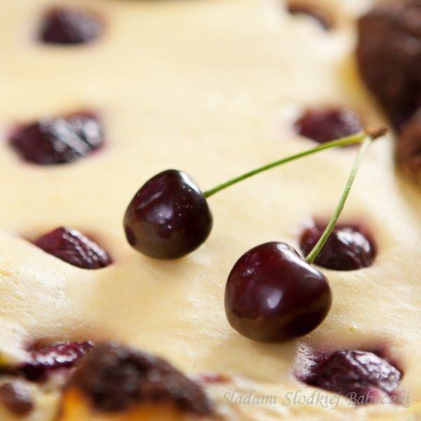 Ciasto z czeresniami / Cake with cherries