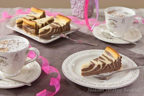Sernikowa zebra / Zebra cheesecake