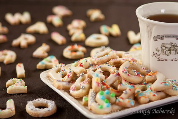 Wesołe ciasteczka literki / Funny cookies - letters