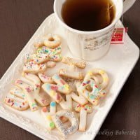 Wesole ciasteczka literki / Funny cookies - letters