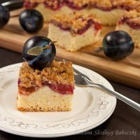 Plum cake with cinnamon streusel | Plum cake with cinnamon crumble
