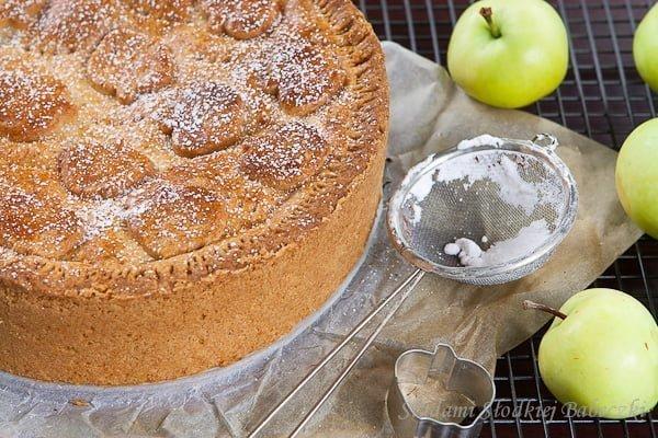 Szarlotka z papierówek / Apple pie