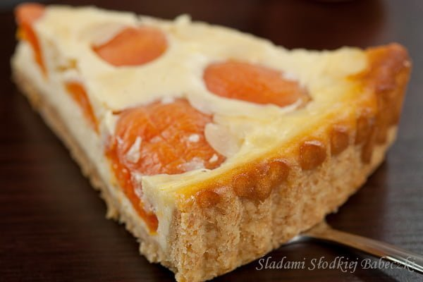 Tarta z morelami / Vanilla cheese and apricot tart