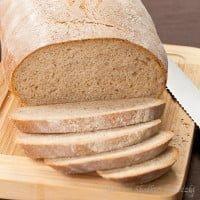 Delikatny chleb na zakwasie | Soft sourdough bread