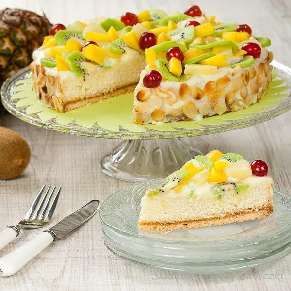 Ciasto egzotyczne – na pożegnanie lata