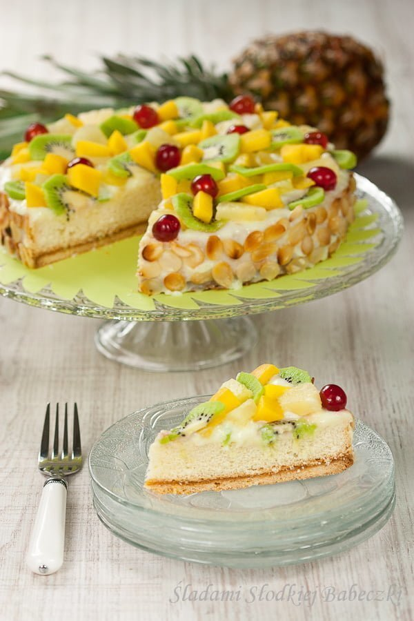 Ciasto egzotyczne | Exotic cake