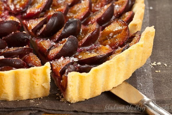 Tarta ze śliwkami | Tart with plums