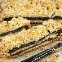 Makowe ciasto z kruszonką | Poppy seed cake with streusel