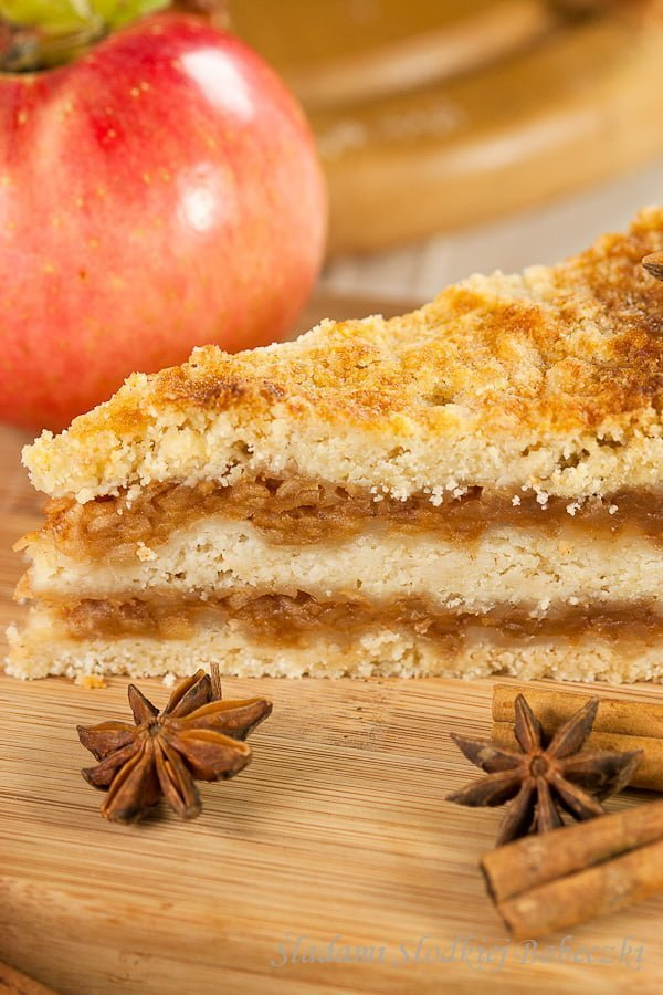 Szarlotka sypana | Easy apple pie