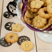 Cookies with razor | Cookie Press Cookies
