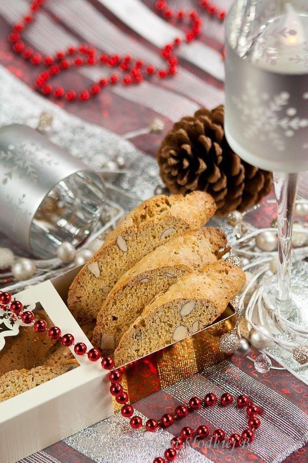 Biscotti migdałowe | Almond Biscotti