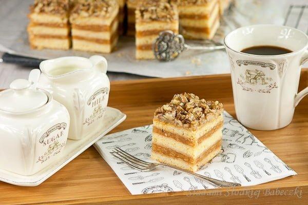 Sękaczek - kruche ciasto z jabłkami i orzechami | Apple walnut pastry