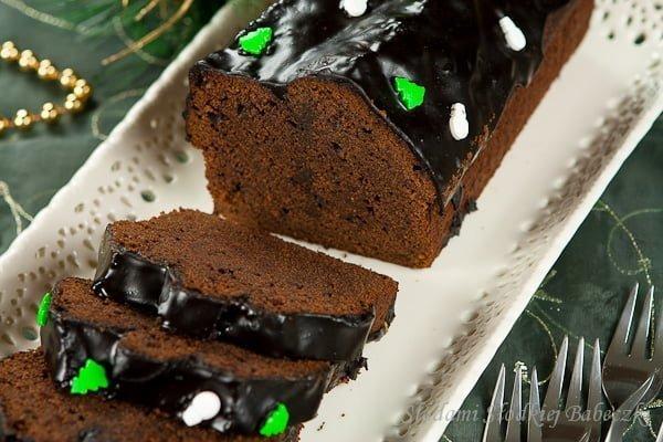 Murzynek piernikowy | Chocolate gingerbread cake