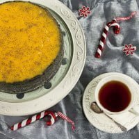Sernik makowy z lemon curd | Poppy seed cheesecake with lemon curd