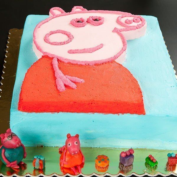 Tort Świnka Peppa | Peppa Pig Cake