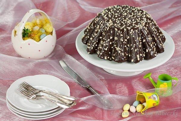 Babka czekoladowa z kawałkami czekolady | Chocolate cake with chocolate chips